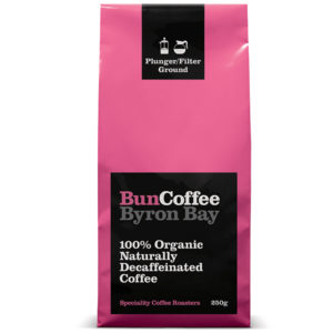 100% Organic Naturally Decaffeinated Coffee