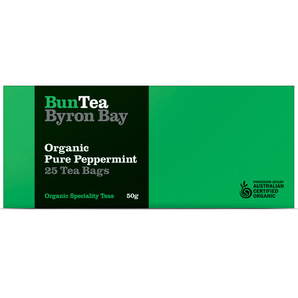 Organic Pure Peppermint Leaf Tea Bags